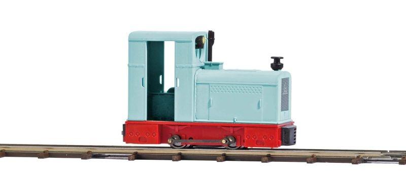 Diesellok Deutz OMZ 122 F, Spur H0f Feldbahn