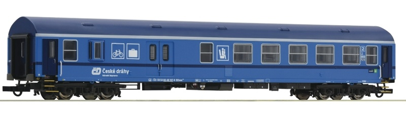 Reisezugwagen 2. Klasse/Gepäck der CD, DC, Spur H0