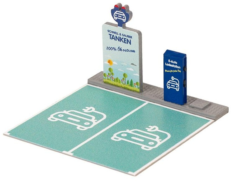 Ladestation für E-Fahrzeuge Bausatz, Spur H0