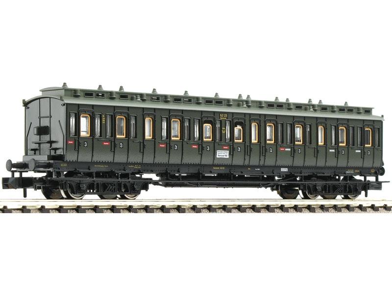 Abteilwagen 3. Klasse Bauart C4tr pr04 der DRG, DC, Spur N
