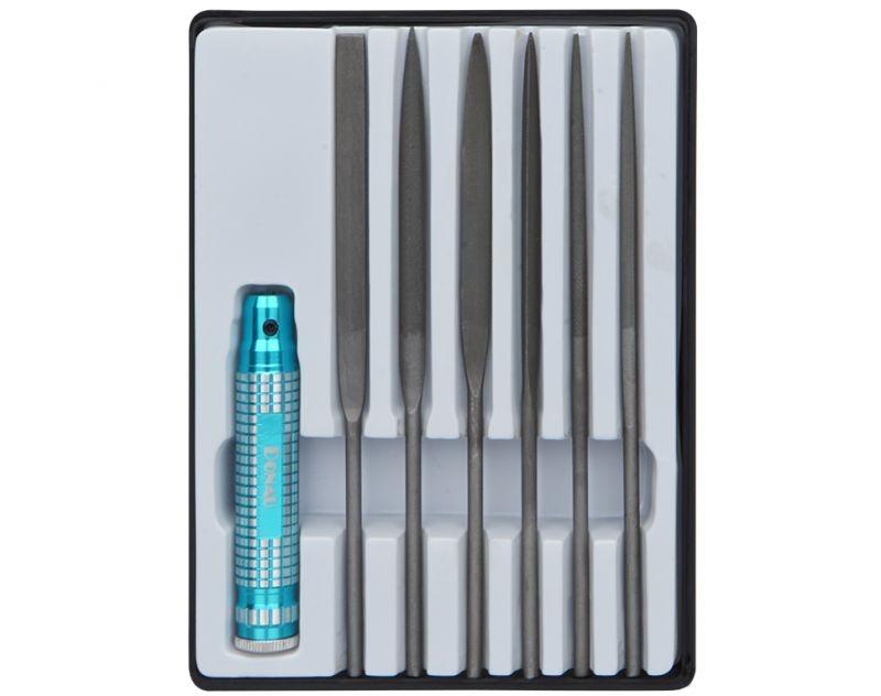 Profiline Nadelfeilen Set 7-teilig mit Metallhalter