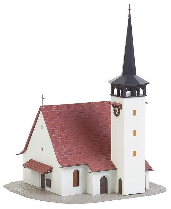 Kirche mit Spitzdach Bausatz N