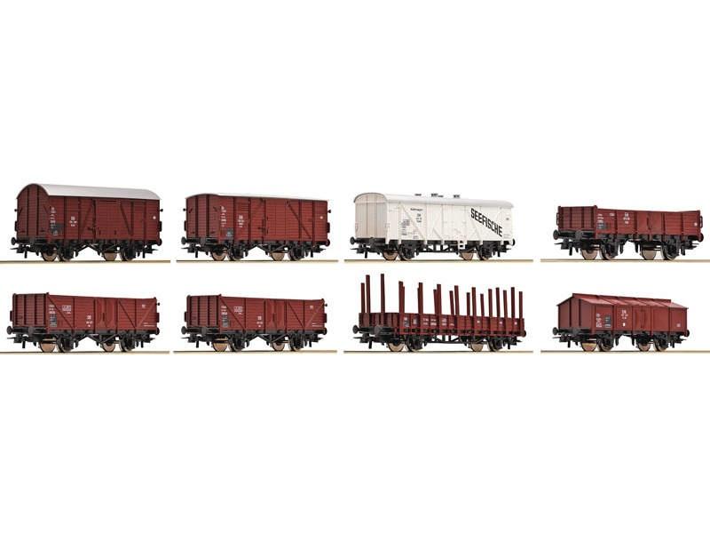Güterwagenset DB 8-teilig H0