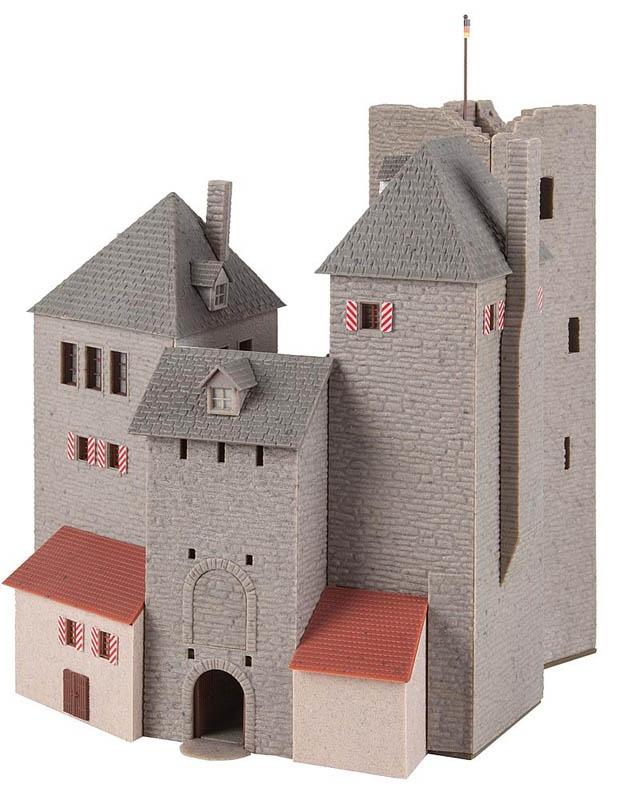 Burg Lichtenfels Bausatz H0