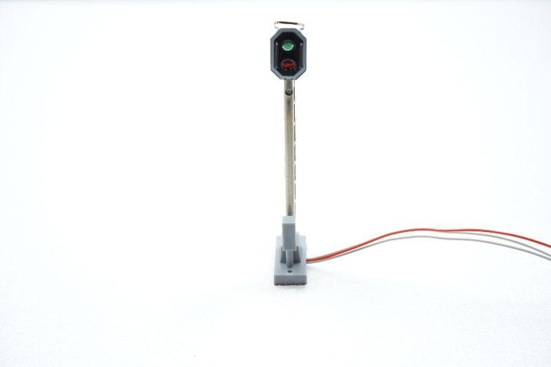 Licht-Hauptsignal mit 2 LEDs der RhB, Spur H0m