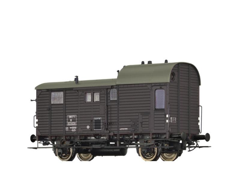 Güterzuggepäckwagen M der SNCF, III, H0