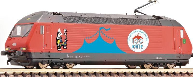 E-Lok 460 058-1 Circus Knie der SBB, Epoche VI, Spur N
