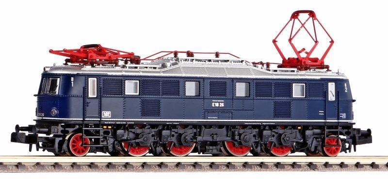 E-Lok BR E18 der DB, blau, mit Stiellampen,Epoche III,Spur N