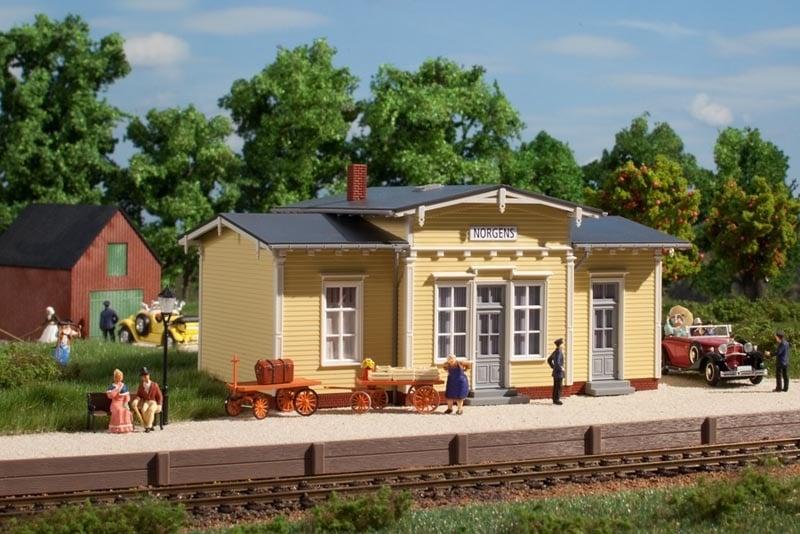 Bahnhof Norgens, Bausatz, Spur H0