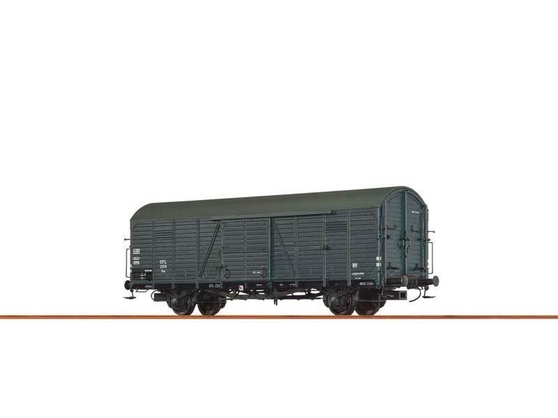 Gedeckter Güterwagen Kuw der CFL, III, DC, Spur H0