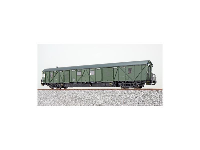 Hilfsgerätewagen EHG 388 der DB, grün, Epoche IV, Spur H0