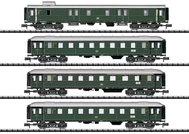 Eilzug-Wagenset DB, Spur N, MHI