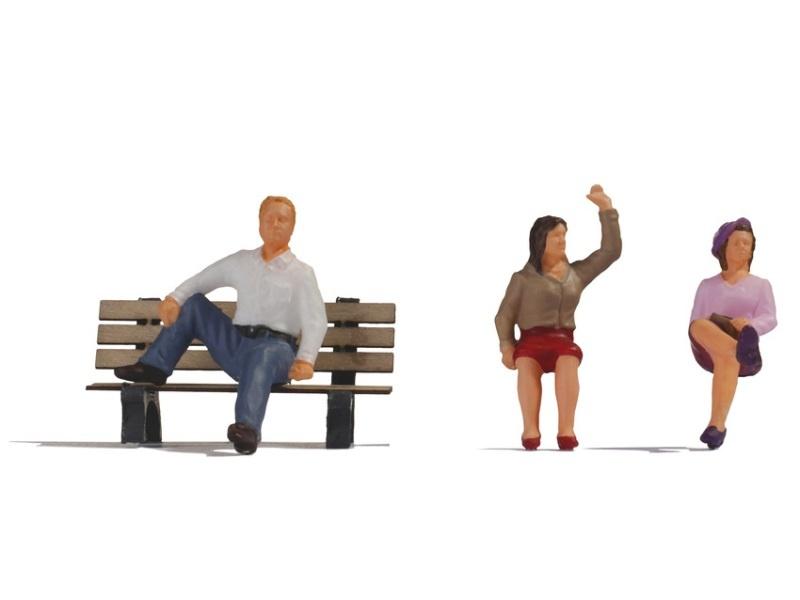 Sitzende Figuren, Spur 1
