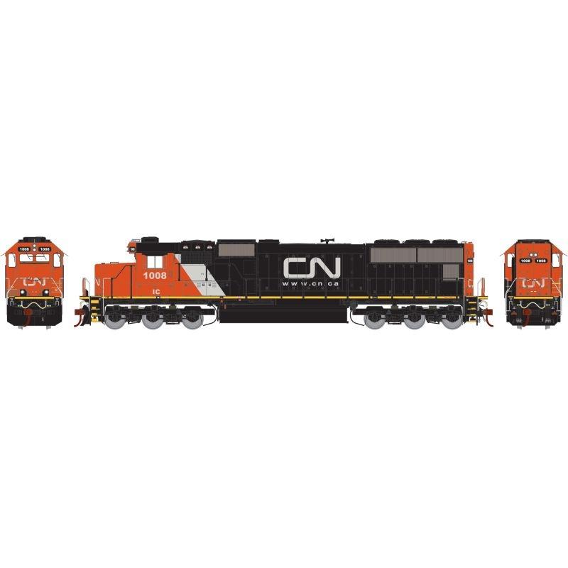 Diesellokomotive SD70 der CN, Spur H0