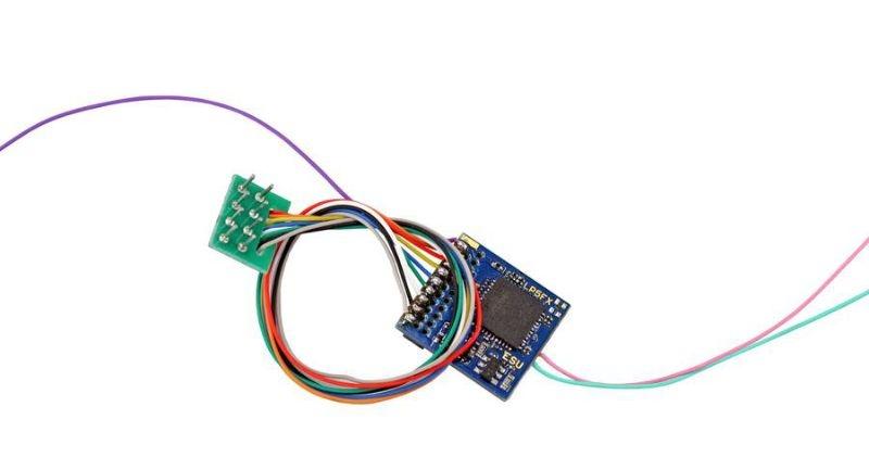 LokPilot 5 Fx DCC/MM/SX, 8-pin NEM652, Spurweite H0, 0