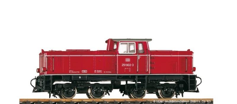 DB V51 901 Diesellok, Spur H0e