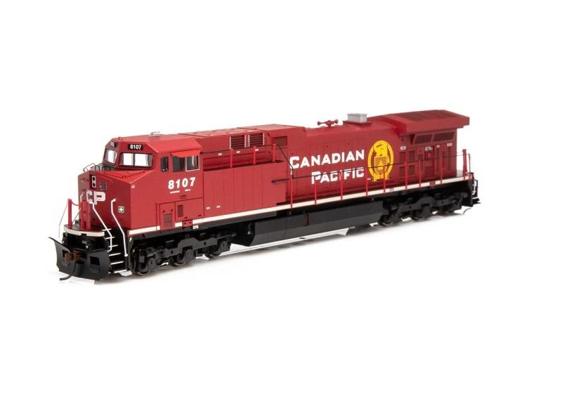Diesellokomotive AC4400CW #8107 der CPR, DC, Spur H0