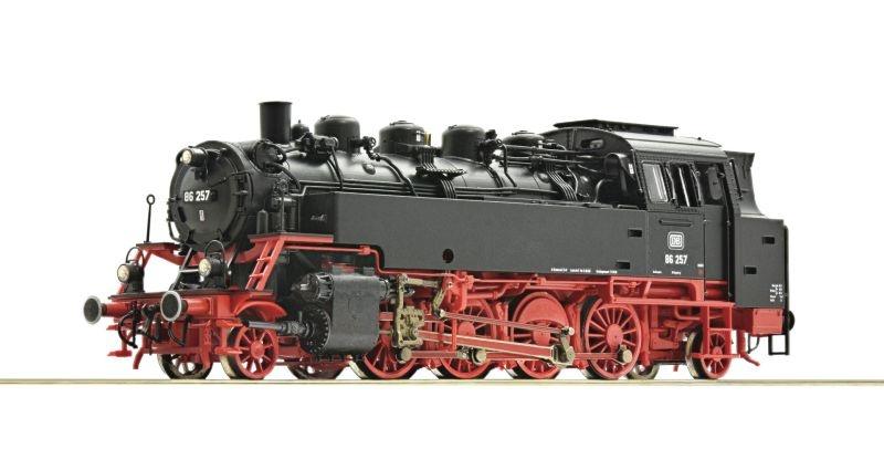 Dampflokomotive BR 86 der DB, DC, Spur H0