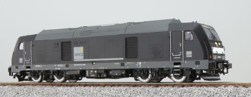 Diesellok BR 245 501 der DB, schwarz, Epoche VI, Spur H0
