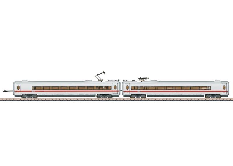 Ergänzungswagen-Set 1 ICE 3 406 MF der DB, Spur Z