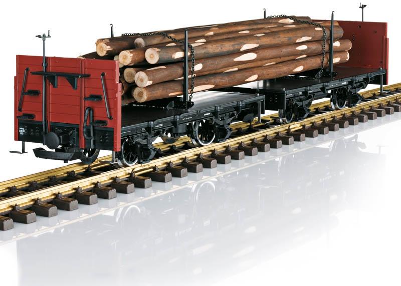 Drehschemelwagen-Set DR Spur G