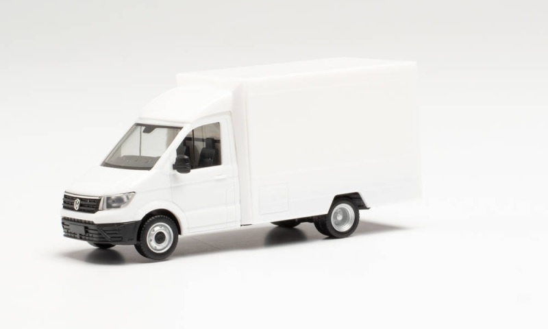 Minikit VW Crafter Foodtruck, Weiß, 1:87 / Spur H0
