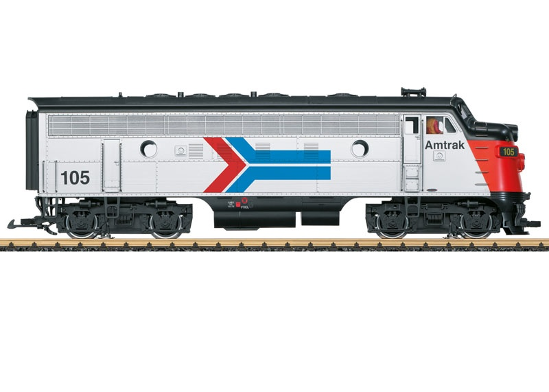 Amtrak Diesellok F7 A Phase I, Sound, mfx, DCC, Spur G
