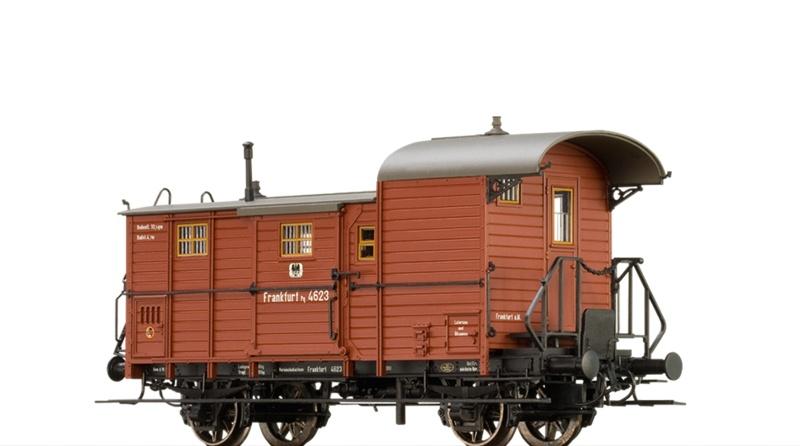 Güterzuggepäckwagen Pg der K.P.E.V., DC, Spur H0
