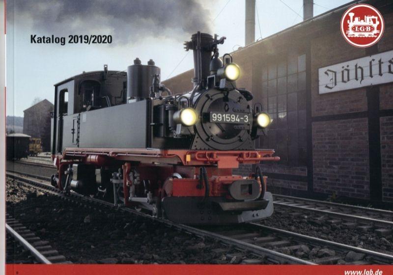 LGB Katalog 2019, 160 Seiten