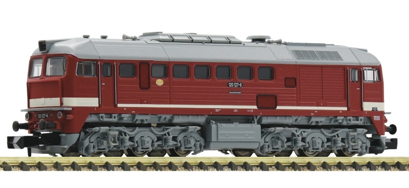 Diesellokomotive BR 120 der DR, Sound, Spur N