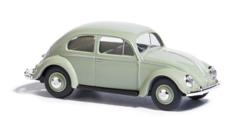 VW Käfer mit Ovalfenster, Grün, Spur H0