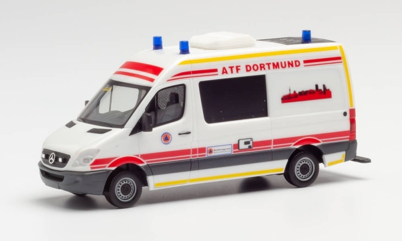Mercedes-Benz Sprinter HD Feuerwehr Dortmund / ATF 1:87 H0