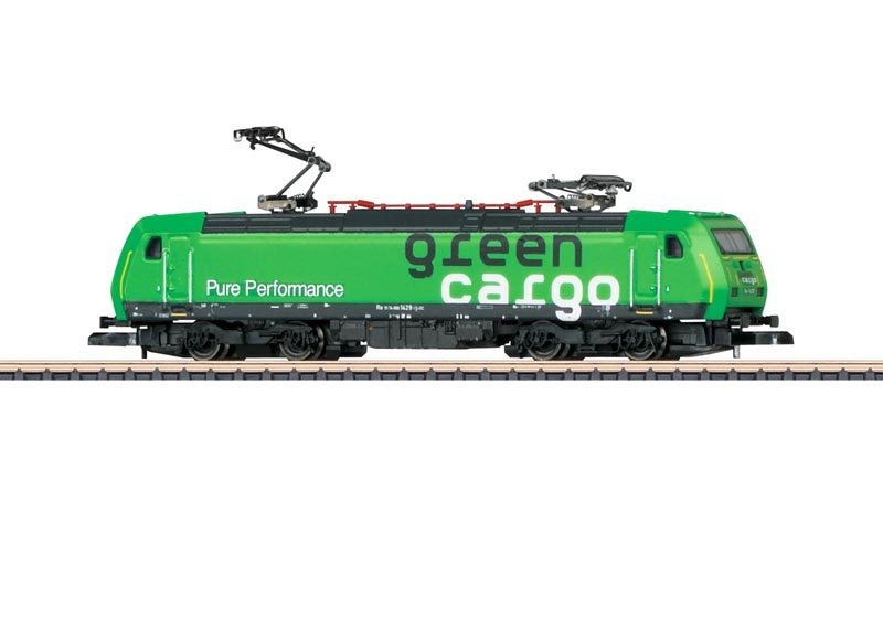 Elektrolokomotive Serie RE 14 der SJ, Green Cargo, Spur Z