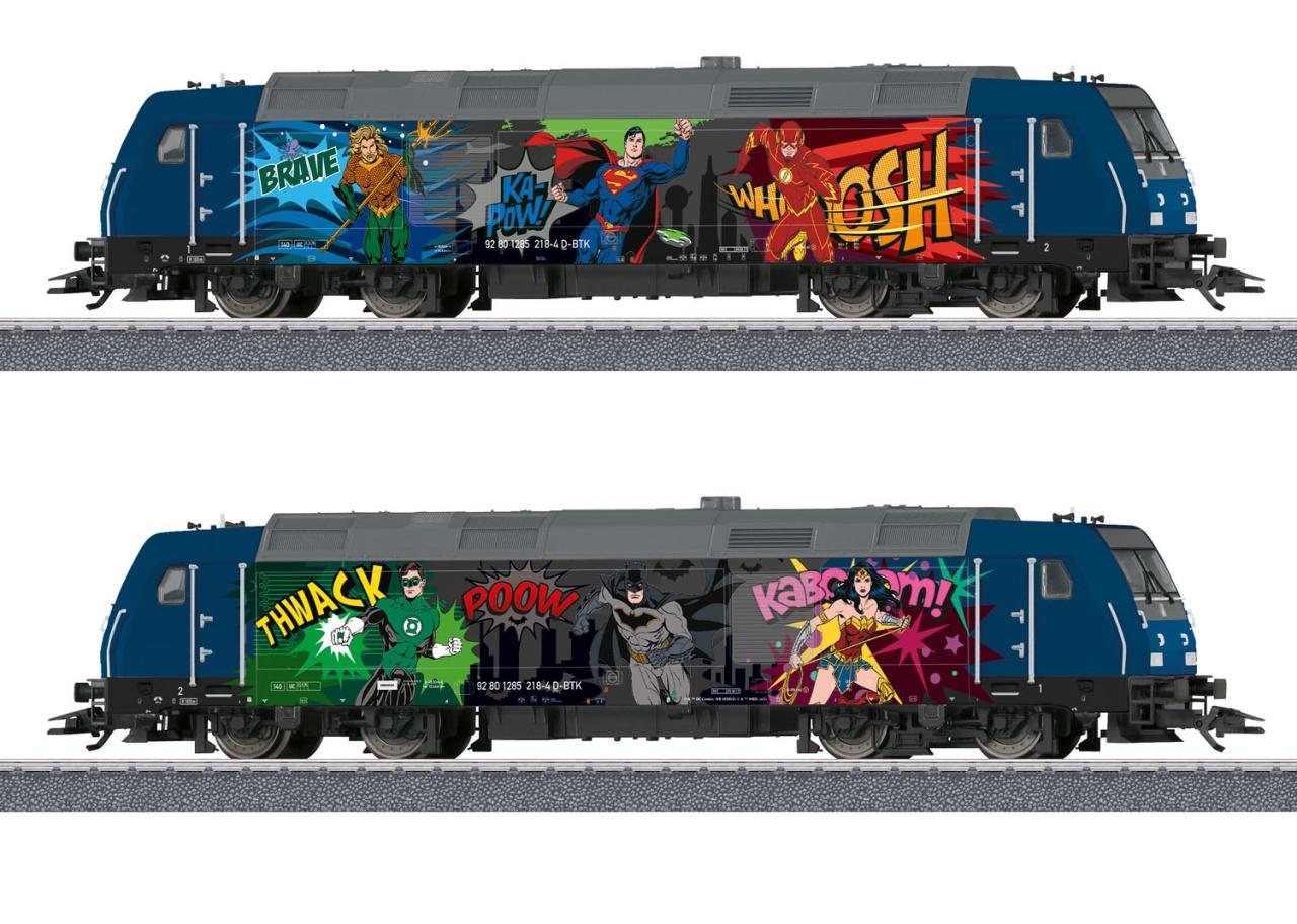Diesellokomotive BR 285 Superhelden, Sound, AC, Spur H0