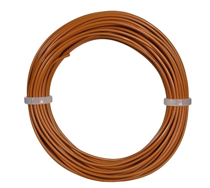 Kabelring 0,14 mm², braun, 10 m