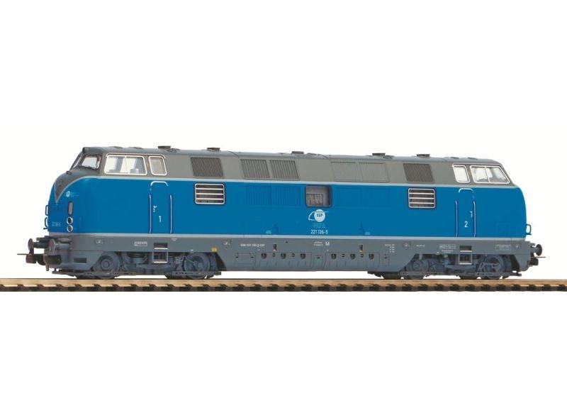 Diesellok BR 221, Privatbahn, AC-Version, Epoche VI, Spur H0
