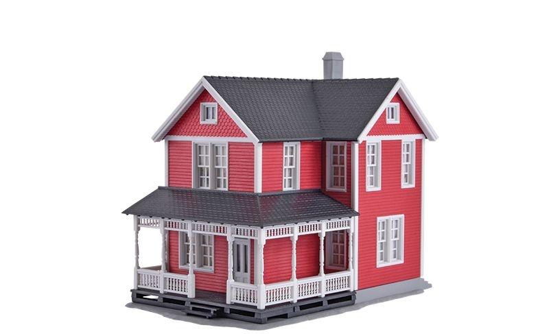 Schwedenhaus, Bausatz, Spur H0