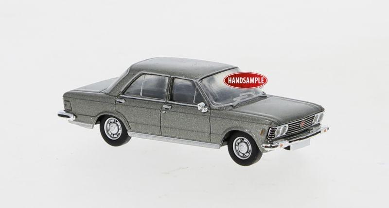 Fiat 130 metallic grau, 1969, 1:87 / Spur H0