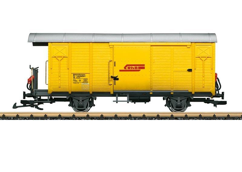 Bahndienstwagen Xk der RhB, Epoche V, Spur G