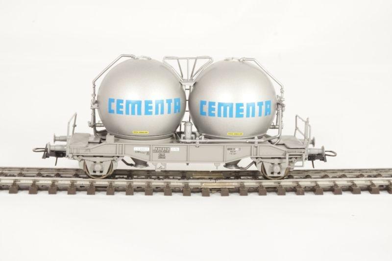 Kugelsilowagen Ucs Cementa der SJ, DC, Spur H0
