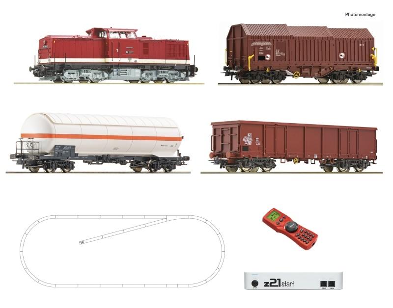 z21 start Digitalset: Diesellokomotive BR 114 Güterzug, H0