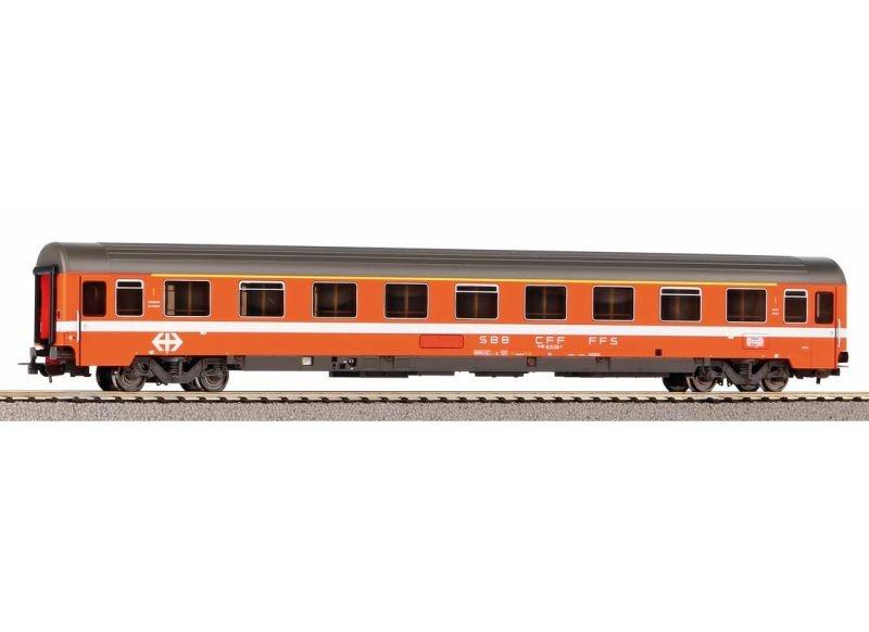 Schnellzugwagen Eurofima 1. Kl. der SBB, Ep. IV, DC, Spur H0