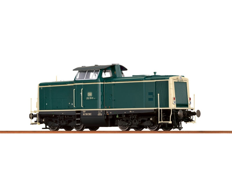 Diesellok BR 212 der DB, IV, AC, Digital Basic+, H0