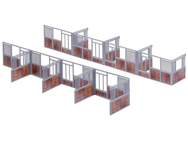 Stall-Inneneinrichtung Bausatz H0