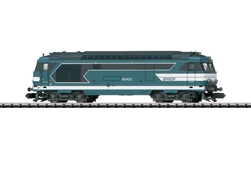 Diesellok Serie 67400 der SNCF, Sound, DCC, Minitrix Spur N