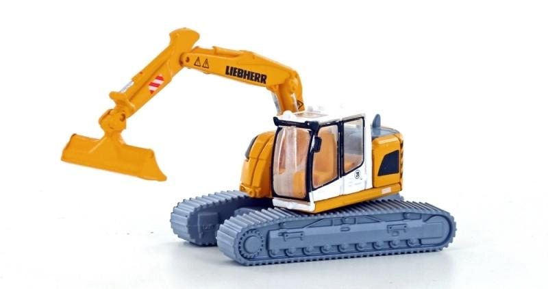 Liebherr Compact Kettenbagger mit Böschungsschaufel, Spur N