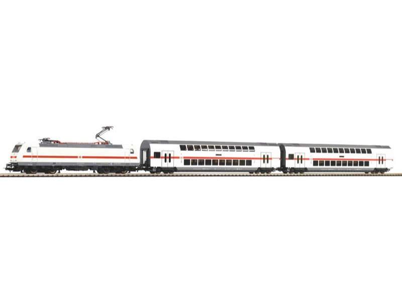 Startset E-Lok BR 146 mit 2 IC Doppelstockwagen, Ep. VI, H0