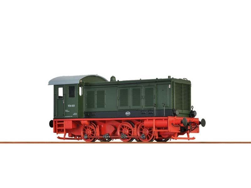 Diesellok V36 der DR, III, DC Analog BASIC+, Spur H0