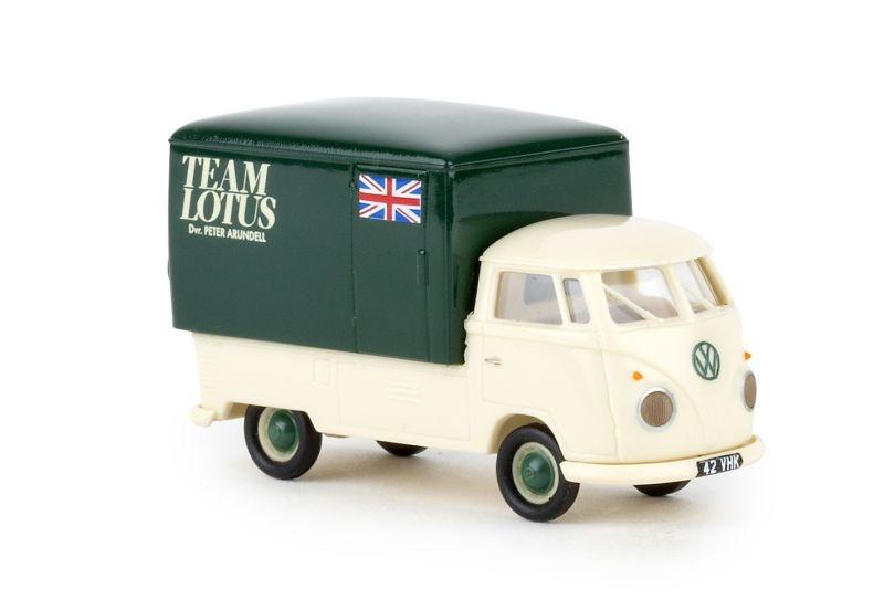 VW T1b Renntransporter, Team Lotus, Spur H0
