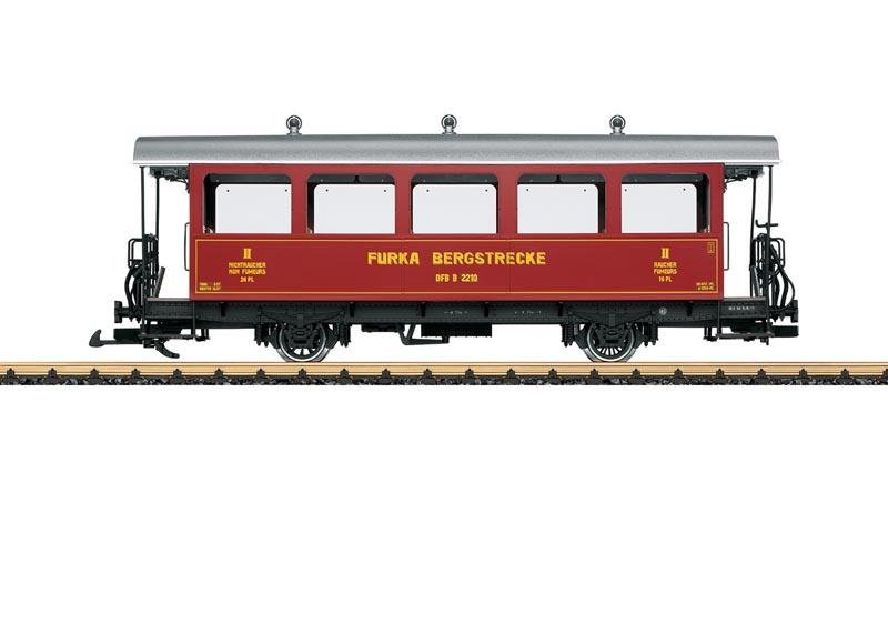 Personenwagen B 2210 der DFB, Spur G